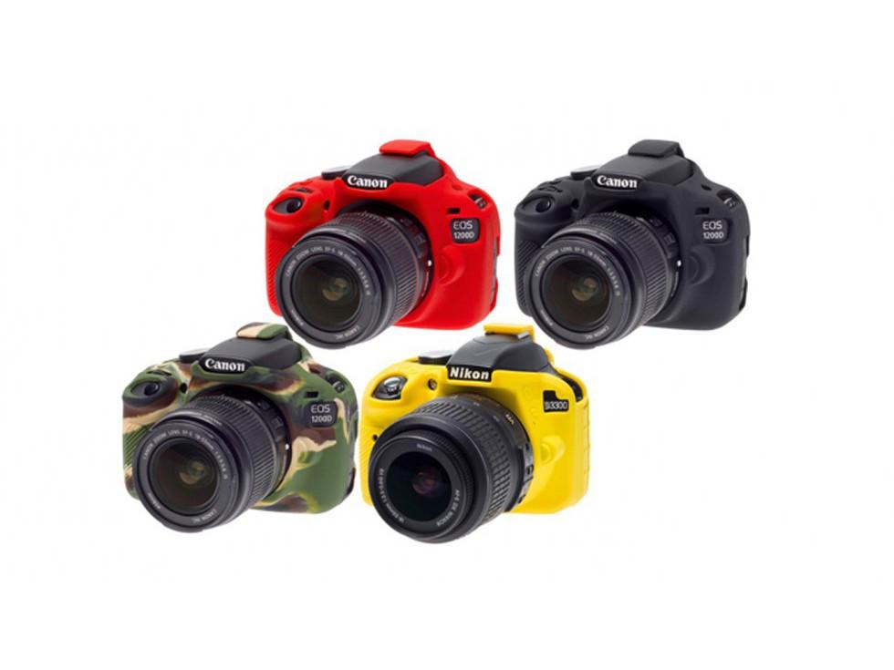 Bolsa de cámara rojo para Canon EOS 1000d eos 1200d eos 1100d